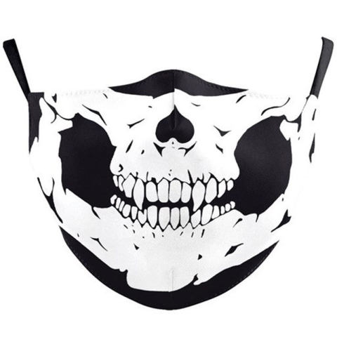 Printed protective mask can be installed with filter element to prevent PM2.5 smog children and adult mask