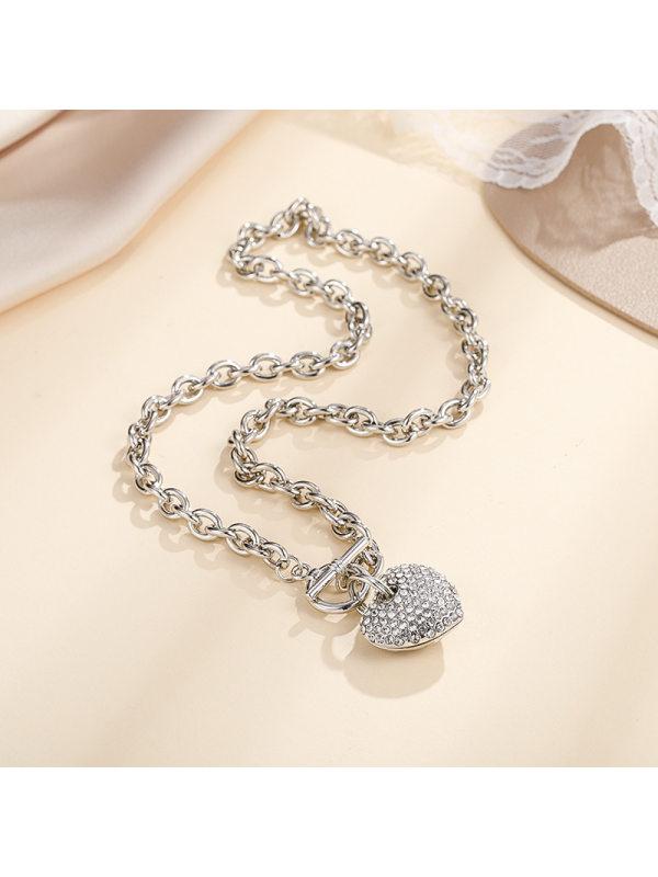 Diamond Chain Golden Alloy Korean Fashion Love Snake Bone Ch
