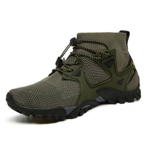 2021 Spring And Summer New Mens Shoes Outdoor Shoes Leisure Cross-border Large Size Outdoor Flying Woven Hiking Hiking Shoes 319