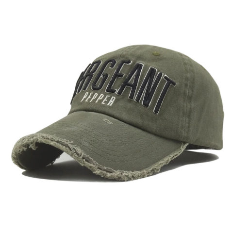 Casual embroidery cap