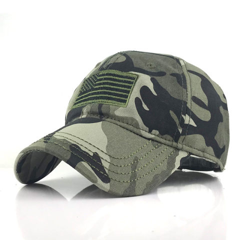 Washed solid color outdoor cap