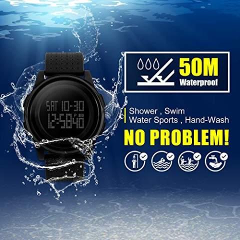 Multifunctional outdoor waterproof electronic watch