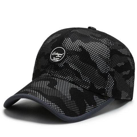Mesh outdoor riding windproof baseball cap