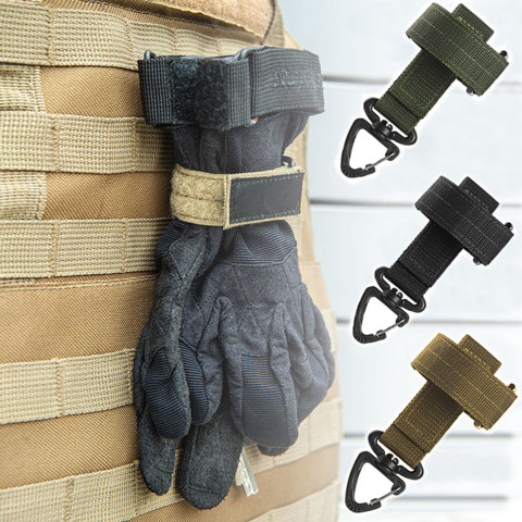 Multi-purpose Gloves Hook Safety Clip Outdoor Climbing Rope