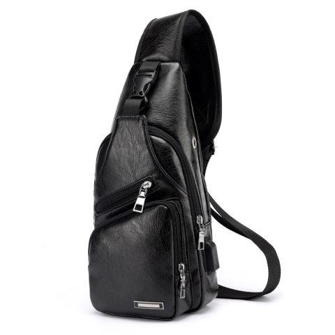 CROSS SLING BAG LEATHER PREMIUM QUALITY IMPORT BAG