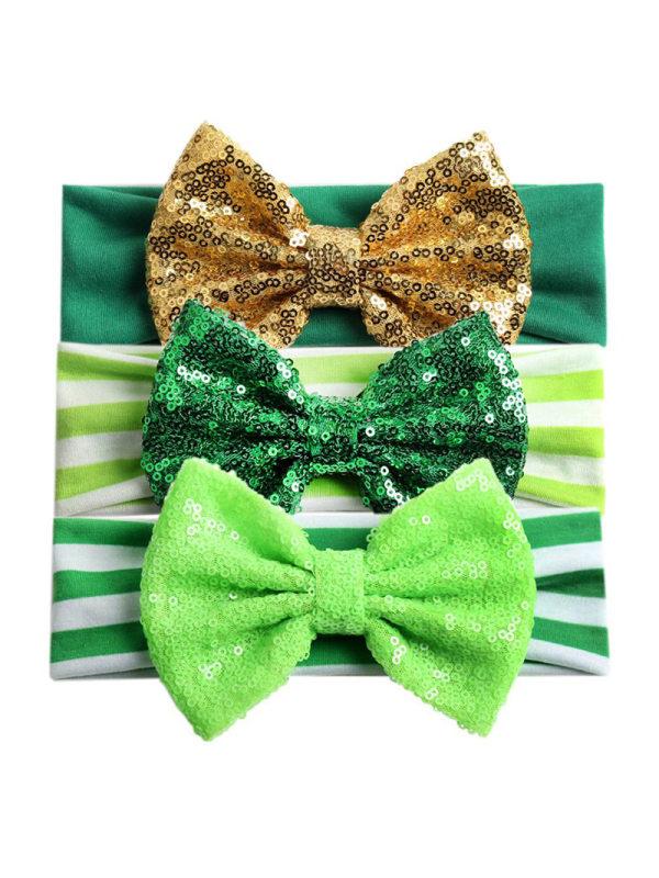 Girls Fashion Green Hairband
