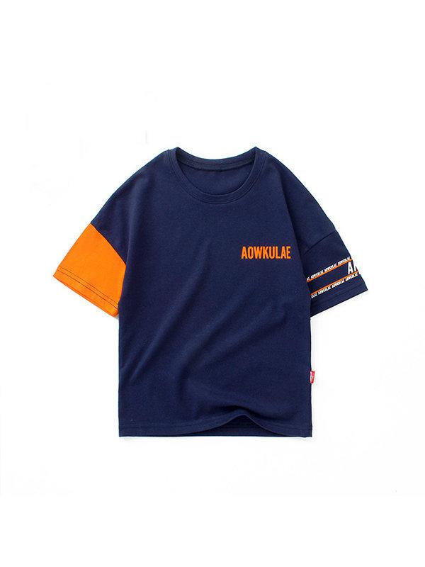 【4Y-13Y】Boys Short Sleeve T-shirt