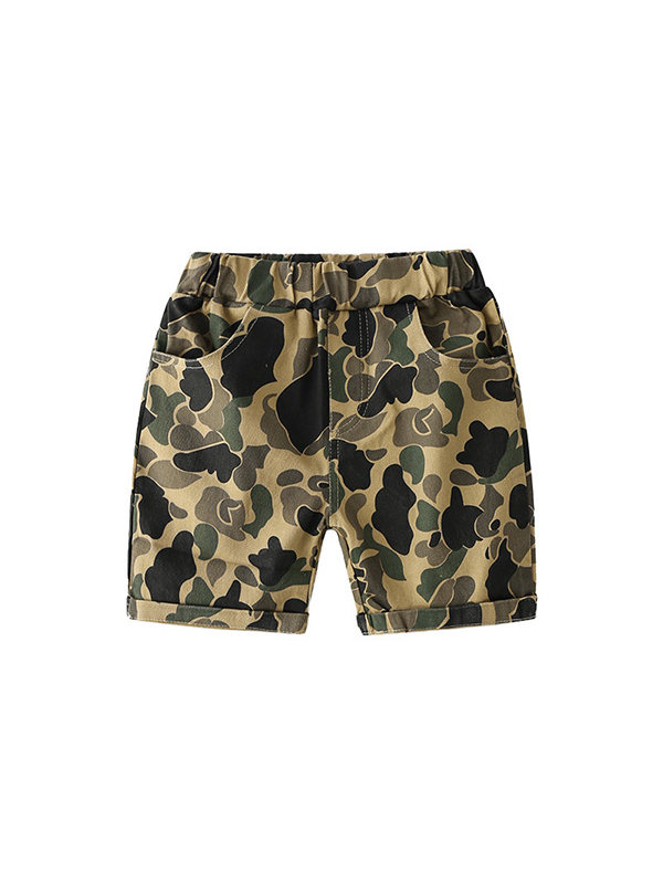 【18M-7Y】Boys Camouflage Trousers