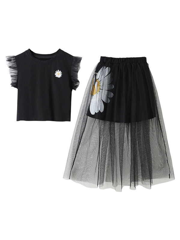 【3Y-13Y】Girls Two-piece Suit