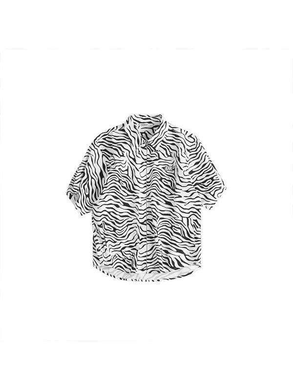 【4Y-15Y】Boys' Trendy Short-sleeved Shirt