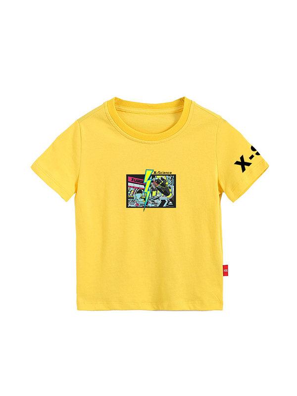【3Y-11Y】Boys Print Short Sleeve T-shirt