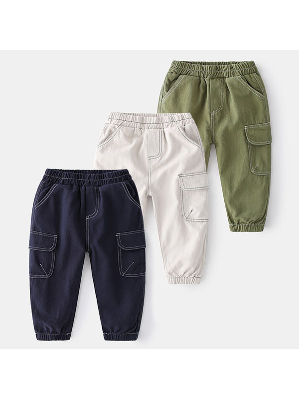 【18M-7Y】Boys Casual Pants Trousers