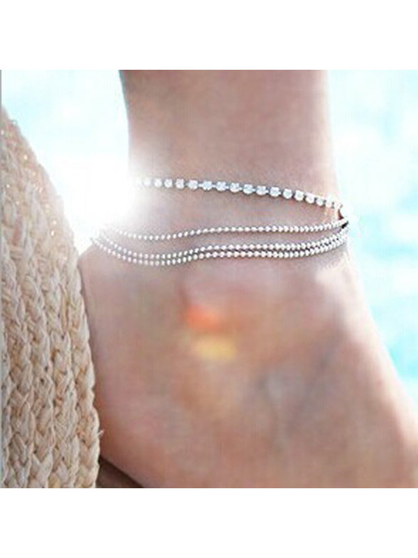 Simple and versatile anklet