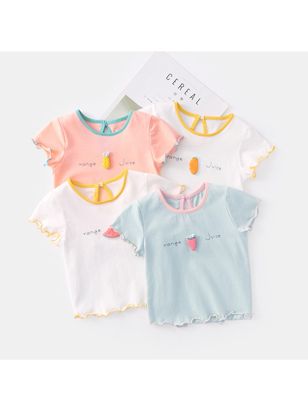 【6M-4Y】Baby Short-sleeved T-shirt