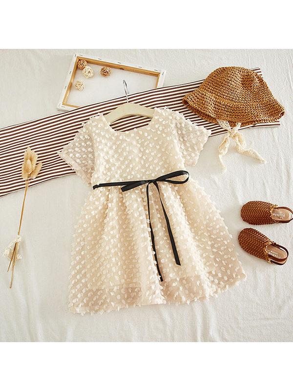 【2Y-9Y】Girls Chiffon Dress