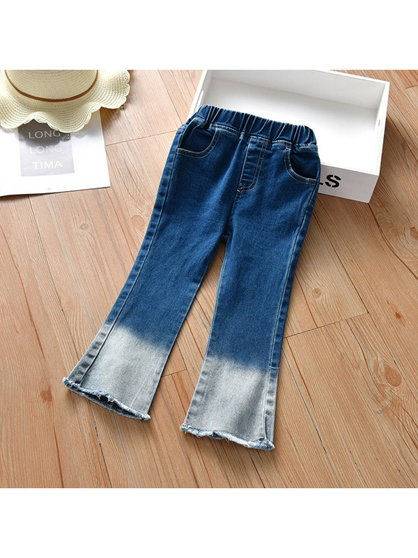 【18M-9Y】Girls Flared Jeans