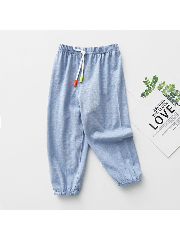 【12M-5Y】Bamboo Leisure Cotton Mosquito Pants
