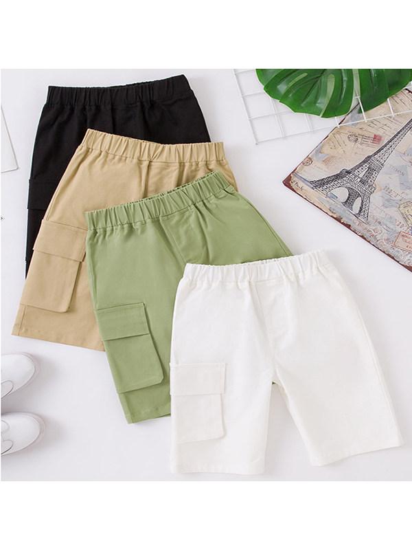 【2Y-11Y】Boys Trendy Overalls Shorts