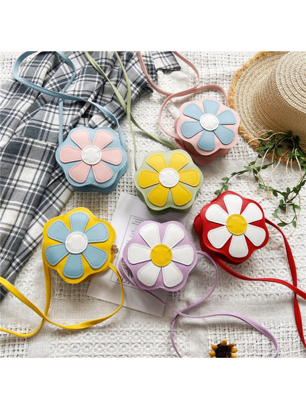 Cute Flower Embroidered Bag