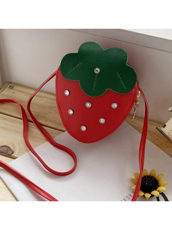 Cute Diamond Strawberry Bag