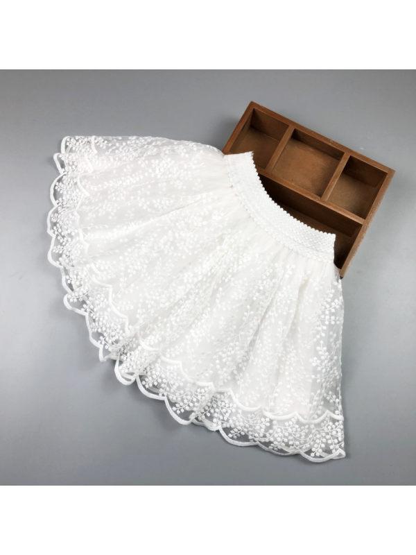 【2Y-11Y】Girls Lace Puffy Skirt