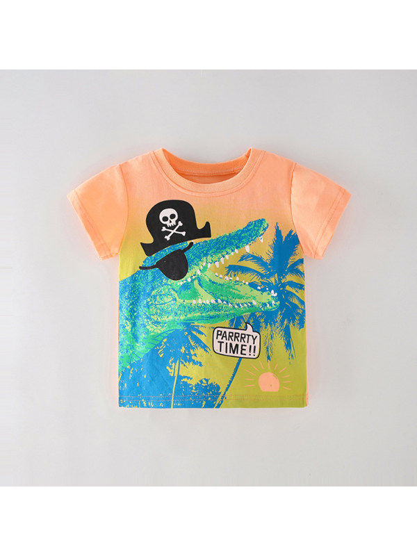 【18M-9Y】Boys Cartoon Print T-shirt