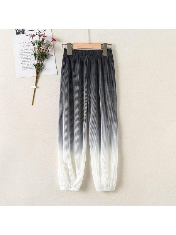 【4Y-15Y】Girls Leisure Sports Gradual Closing Trousers