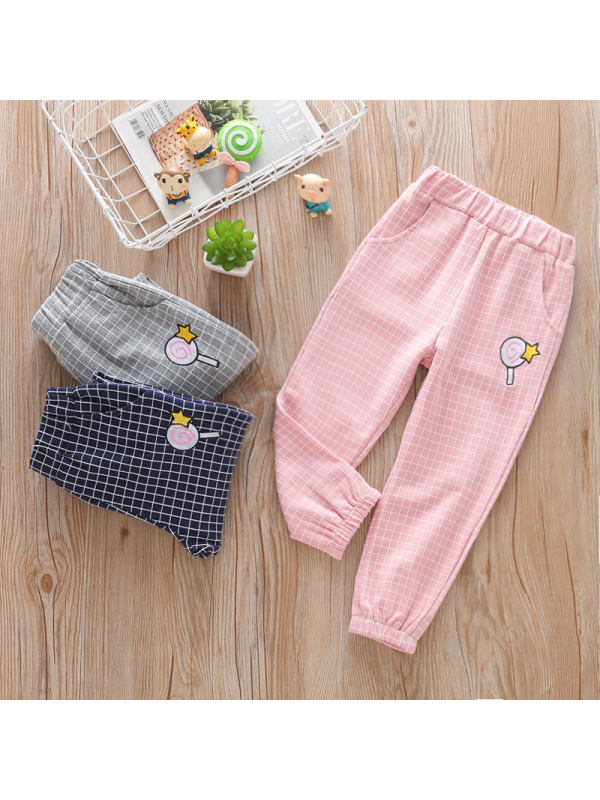 【18M-7Y】Girls Casual Sports Trousers