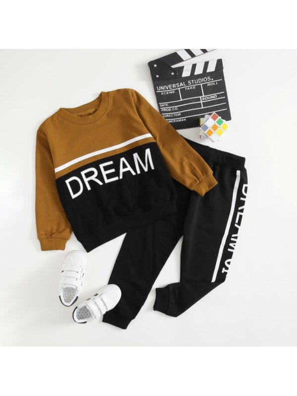 【18M-7Y】Boys' Fashion Casual Sports Suit