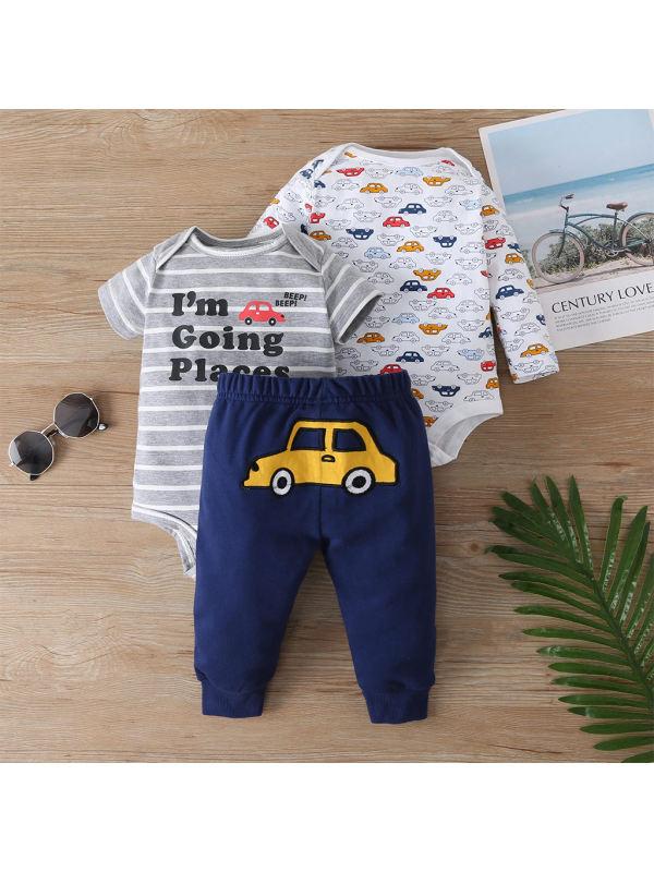 【3M-24M】Infant Baby Multi-piece Suit