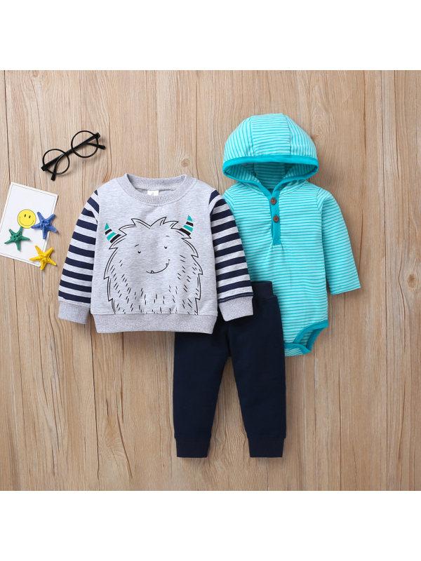 【3M-24M】Baby Boy Multi-Piece Suit