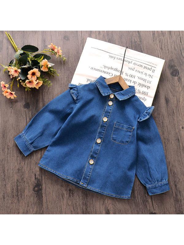 【12M-5Y】Girls Denim Jacket