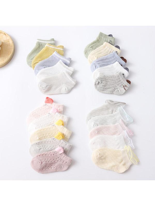5 Pairs of Mesh Socks