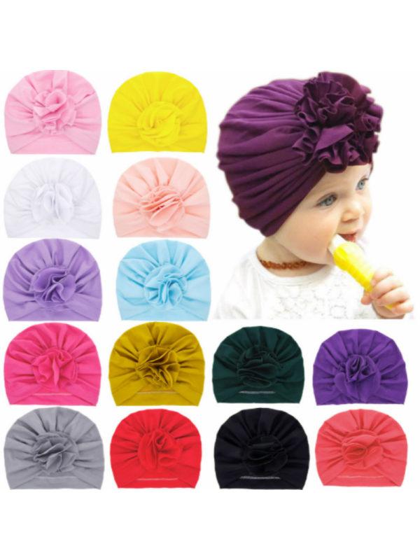 Newborn Baby Petal Fetal Cap Head Cap