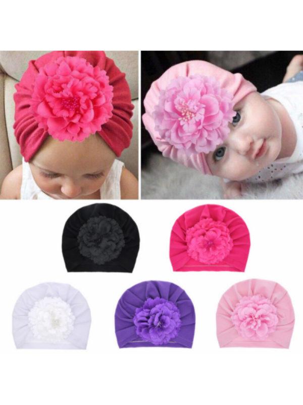 Baby Flower Headscarf