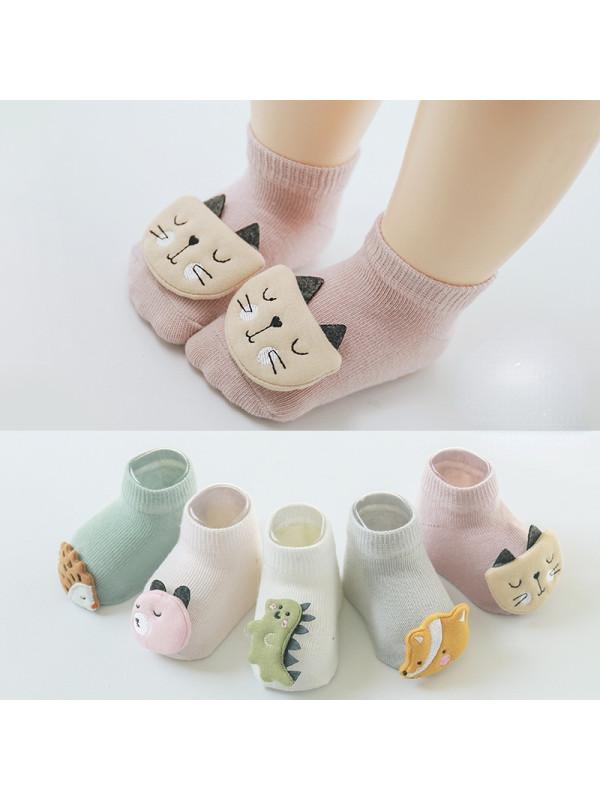 Animal Print Non-slip Floor Socks