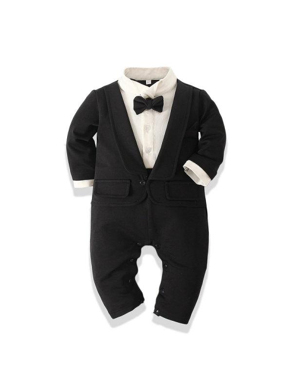 【6M-3Y】Baby Boy One-piece Romper
