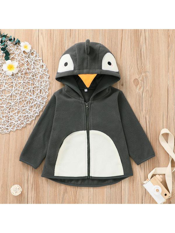 【6M-2.5Y】Baby Penguin Top Coat