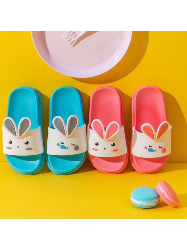 Kid Cartoon Net Red Cute Rabbit Slippers