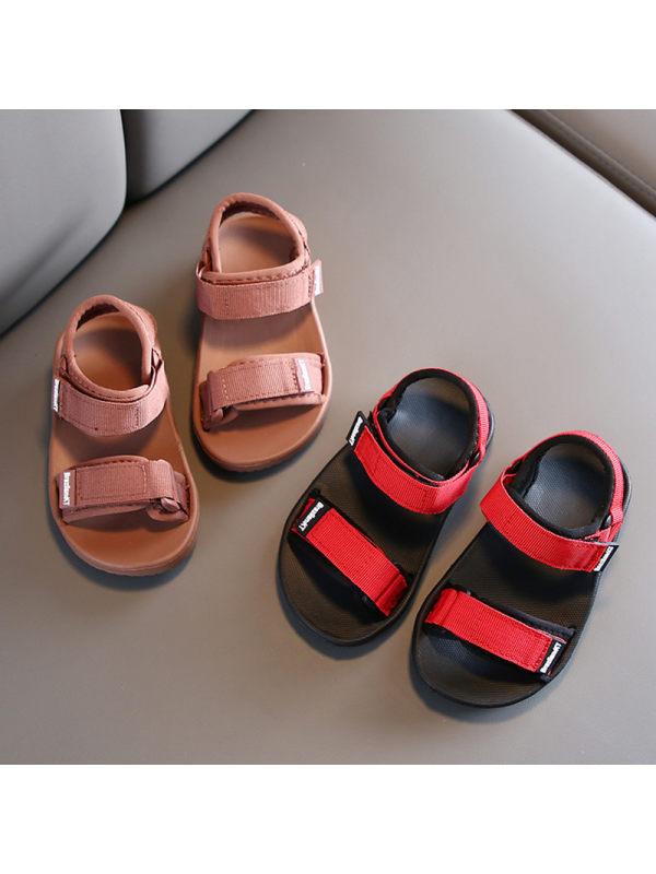 Kid Fashion Beach Canvas Sandals