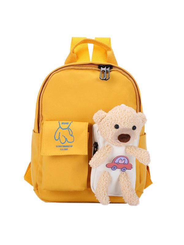 Bear Decoration Backpack