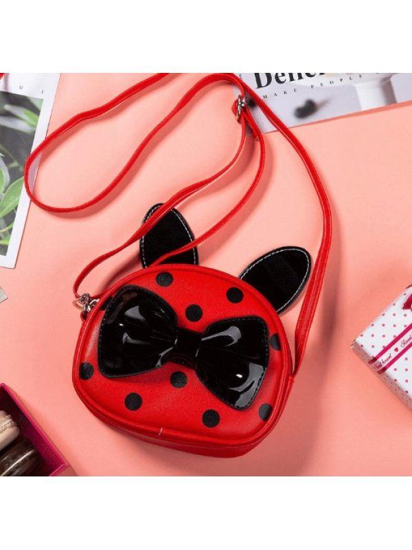Girls Cute Princess Polka Dot Decorative Small Bag