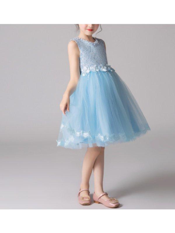 【5Y-15Y】Girls Vest Princess Dress