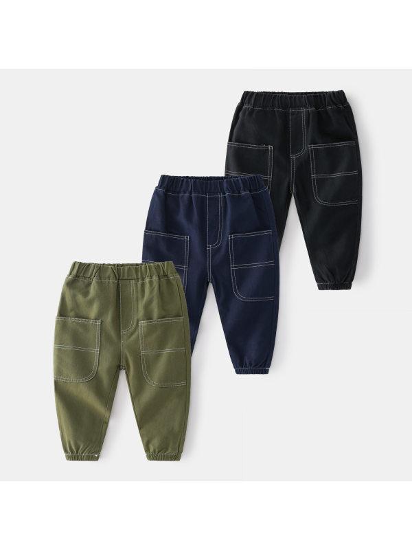 【18M-7Y】Boys Trendy Casual Pants