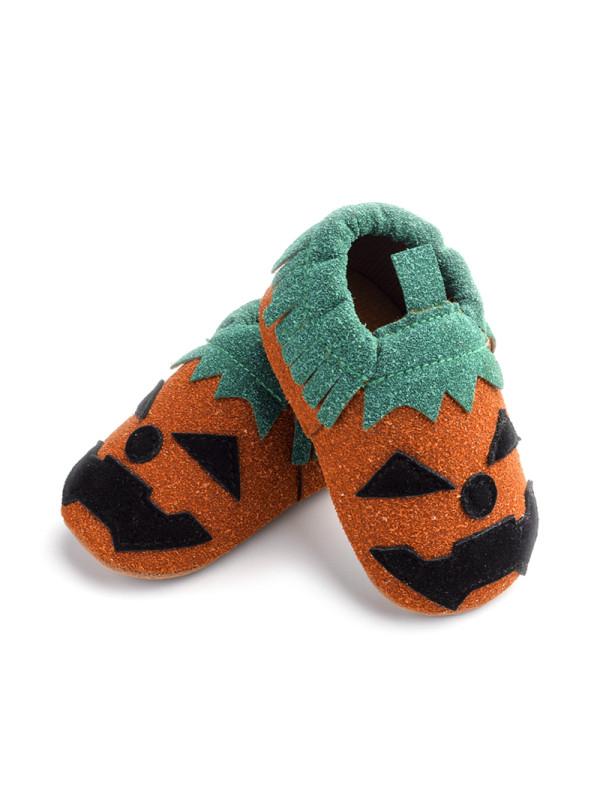 Babys Halloween Pumpkin Shoes