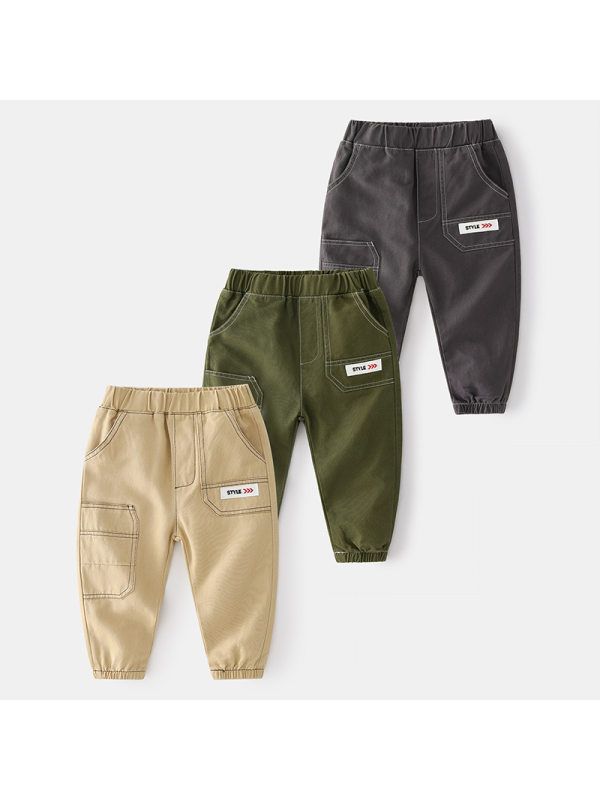【18M-7Y】Boys Casual Trousers