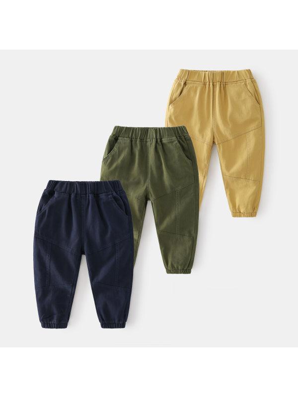 【2Y-9Y】Boys Casual Trousers