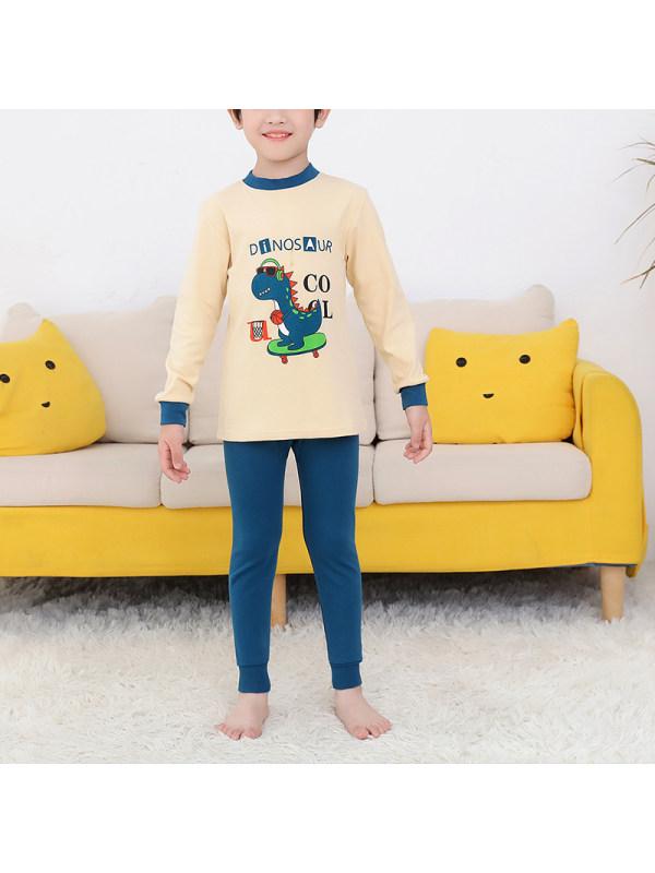 【2Y-13Y】Boys Casual Cartoon Print Suit