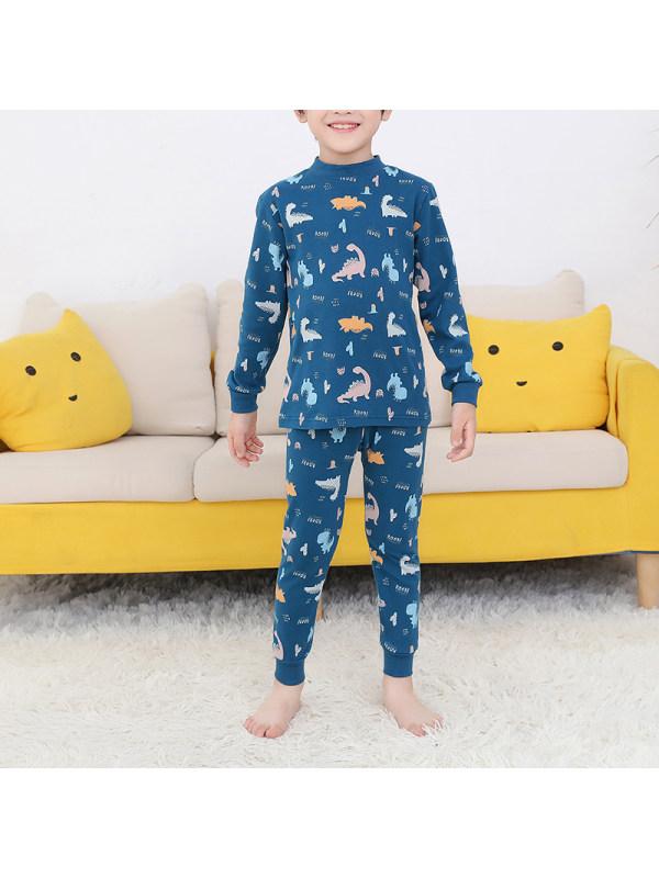 【2Y-13Y】Boy Casual Cartoon Print Suit