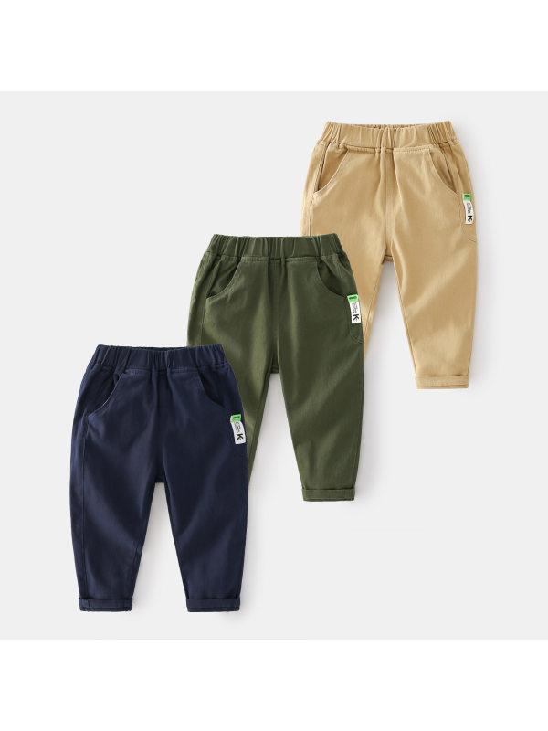 【2Y-9Y】Boys Casual Overalls Trousers
